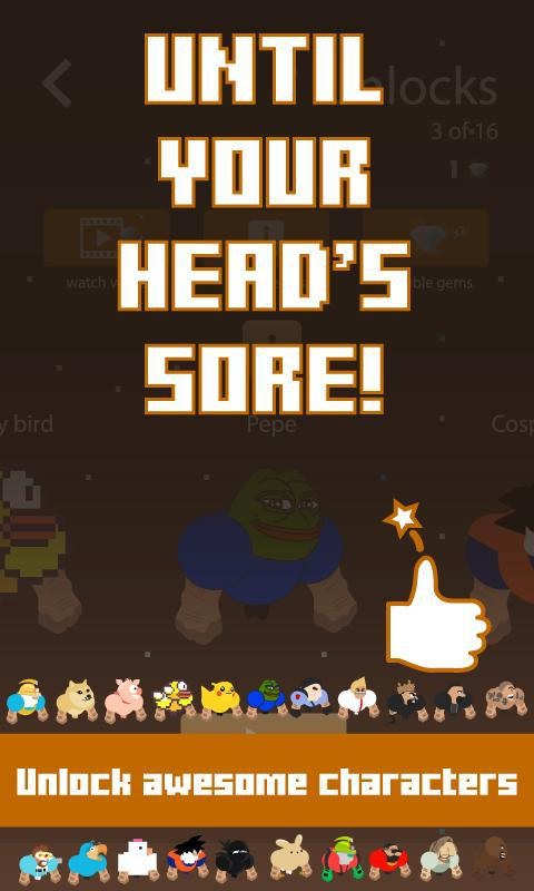Headbutt Hero 游戏截图4