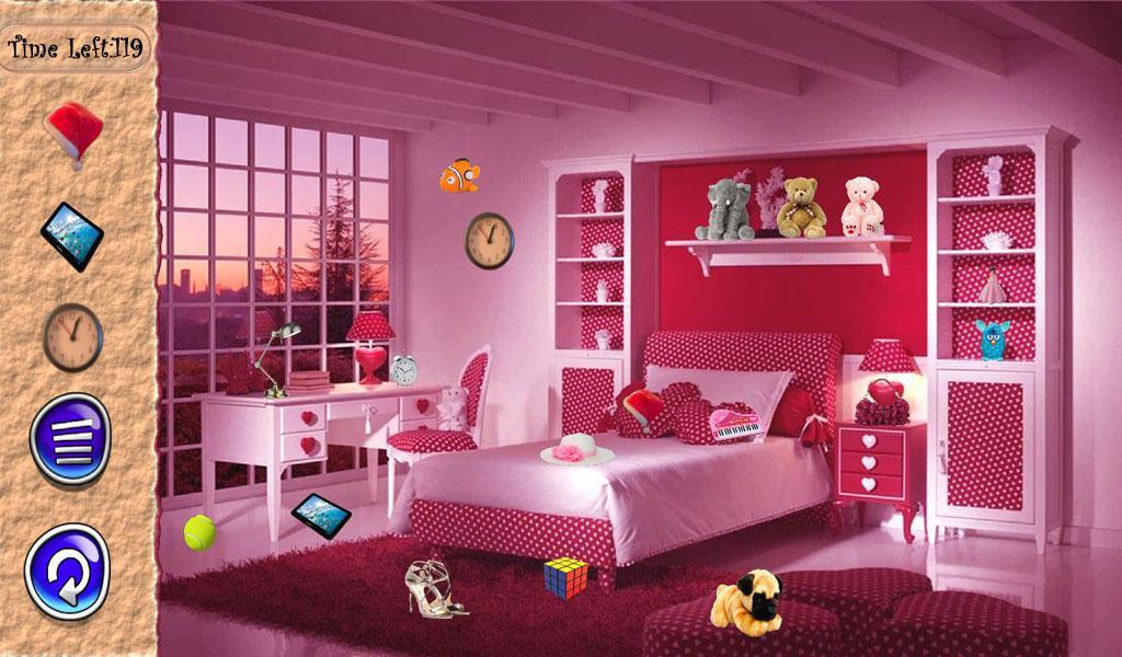 Hidden Objects Girls Room 游戏截图1