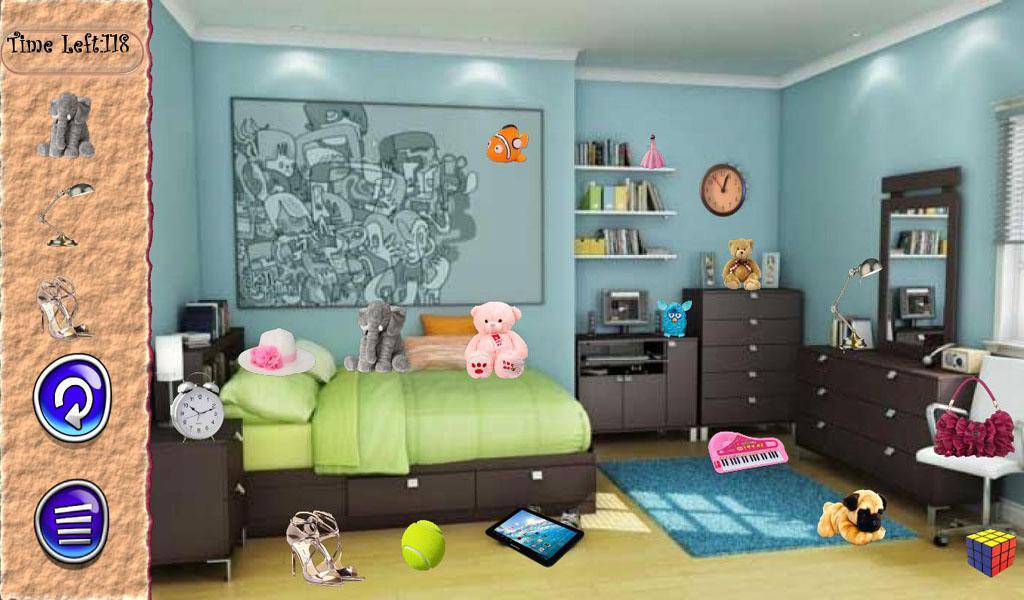 Hidden Objects Girls Room 游戏截图4