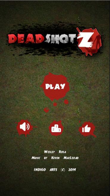DeadShotZ 游戏截图1