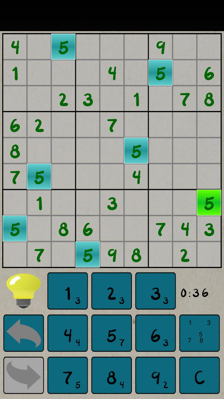 Sudoku Free 2019 游戏截图4