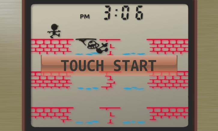 GAME&WATCH manhole 3 lines 游戏截图1