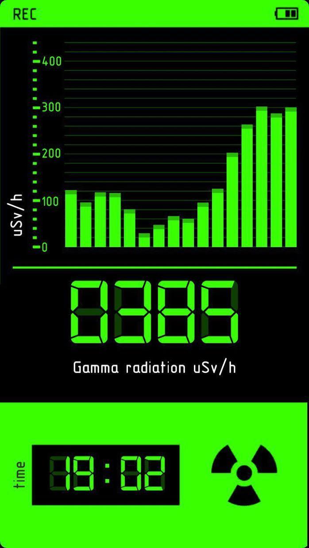 Dosimeter simulator, Geiger counter prank PRO 游戏截图4