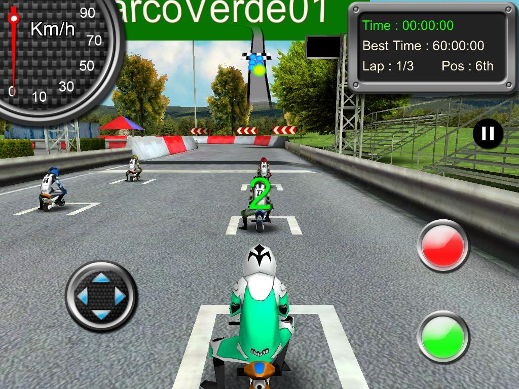 Minibike Racing 游戏截图5