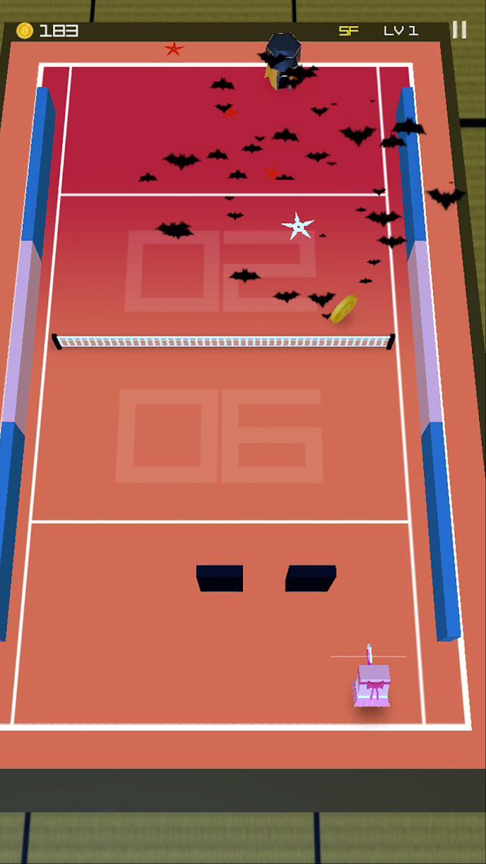 忍者网球 - PONG 报复 游戏截图5