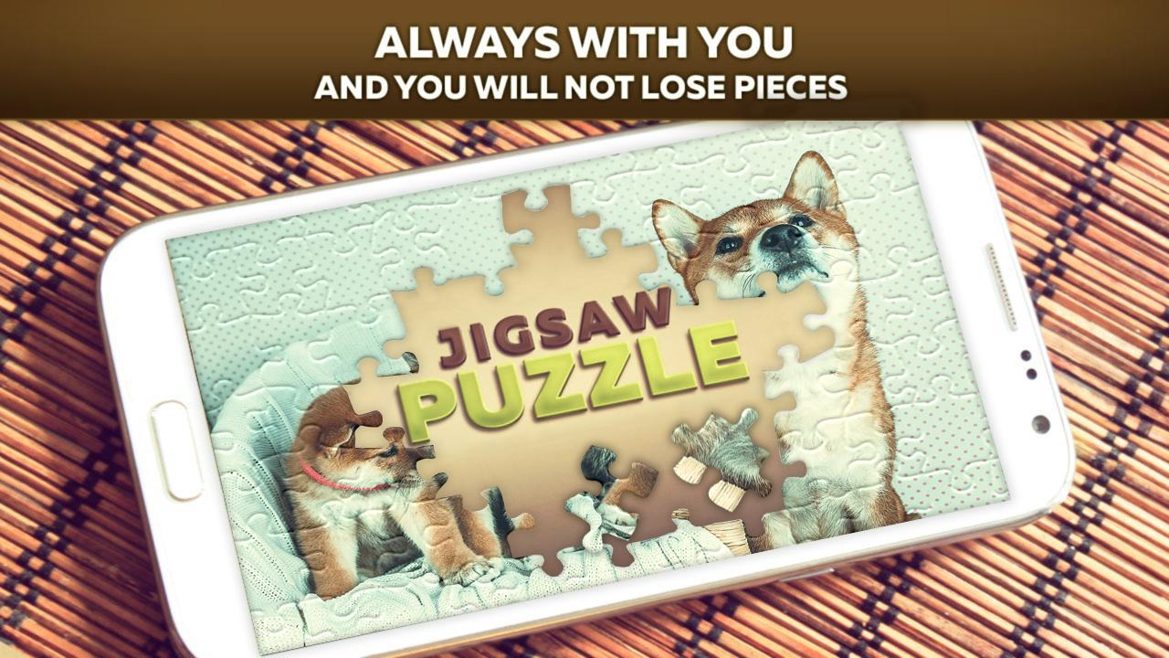 Cute Dog Puzzles 游戏截图4
