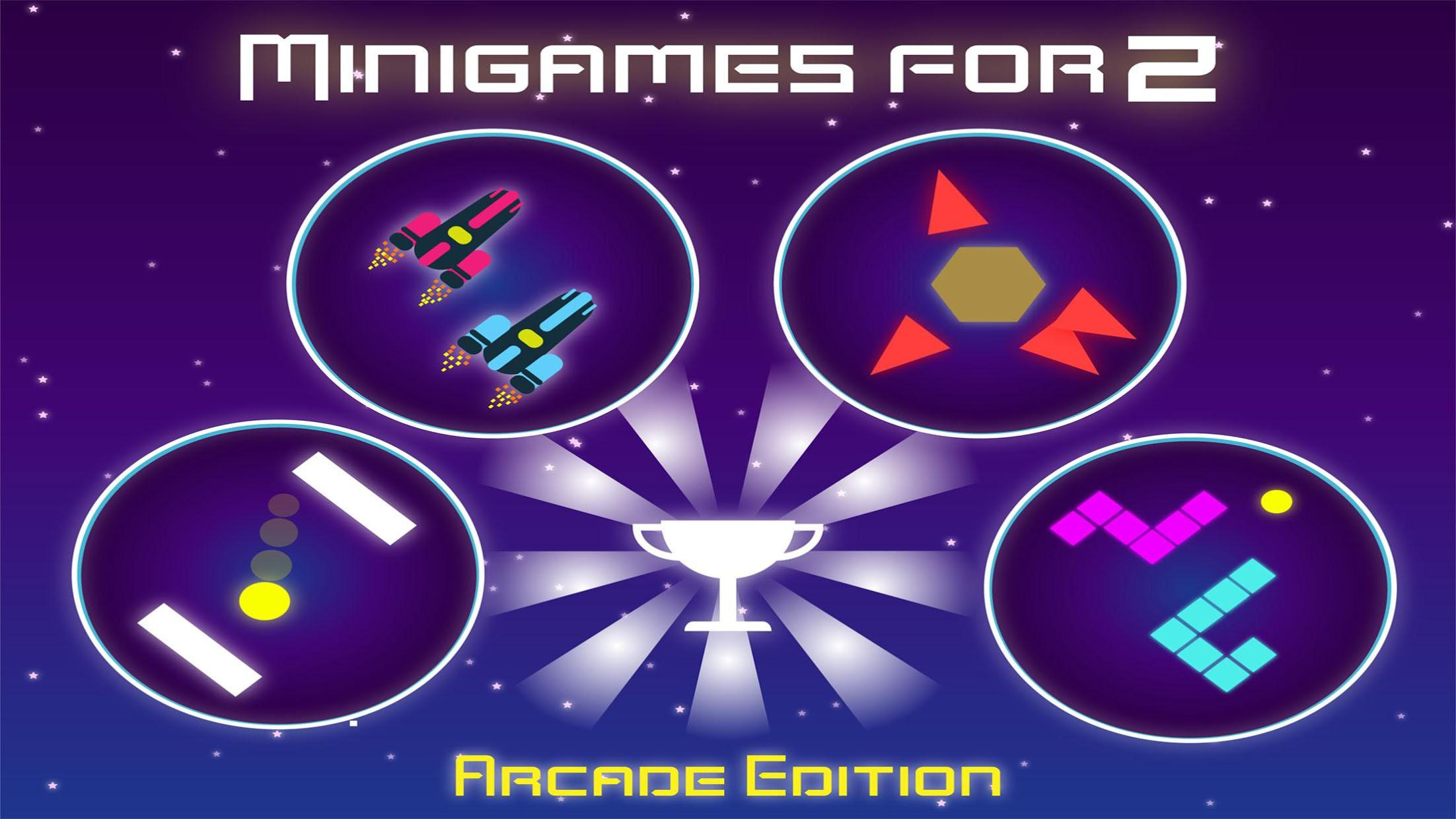 Minigames for 2 Players - Arcade Edition 游戏截图1