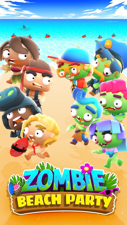 Zombie Beach Party 游戏截图1