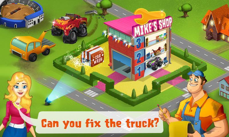 Mechanic Mike - Monster Truck 游戏截图2