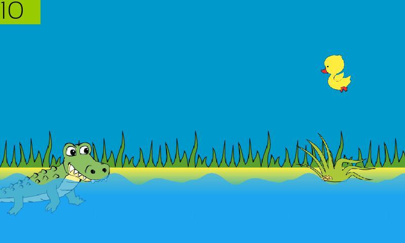 Hungry Crocodile 游戏截图1