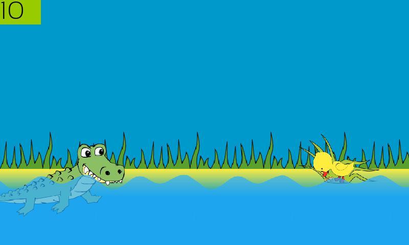 Hungry Crocodile 游戏截图2