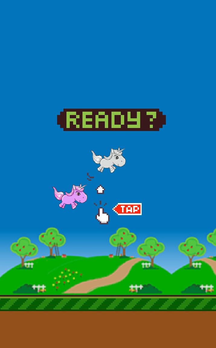 Flappy Unicorn 游戏截图2