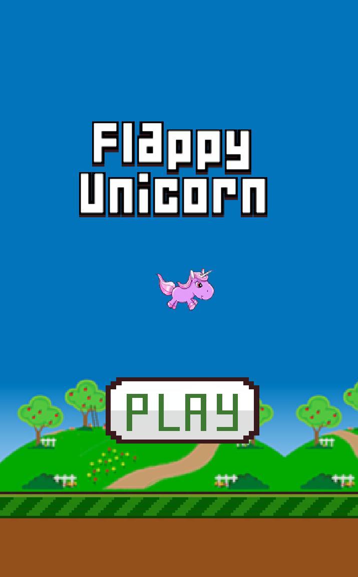 Flappy Unicorn 游戏截图4