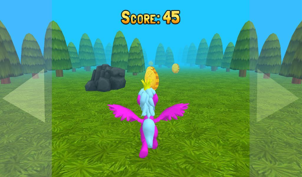 运行小马3D:小赛!有趣的儿童免费游戏为男孩和女孩 游戏截图3