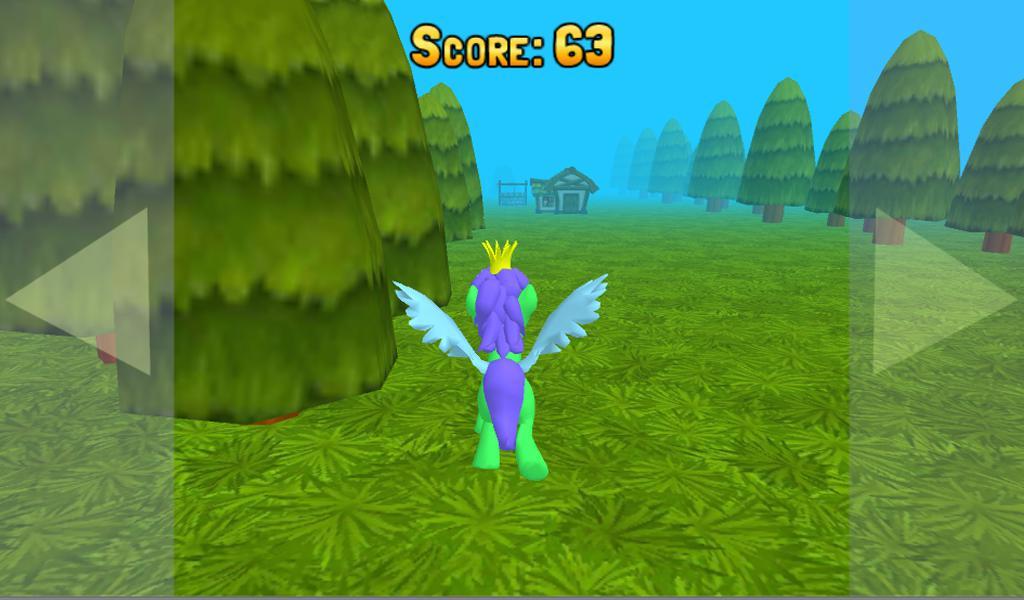 运行小马3D:小赛!有趣的儿童免费游戏为男孩和女孩 游戏截图4