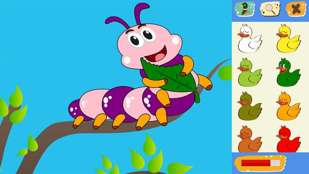 Kids Educational Coloring Game 游戏截图3