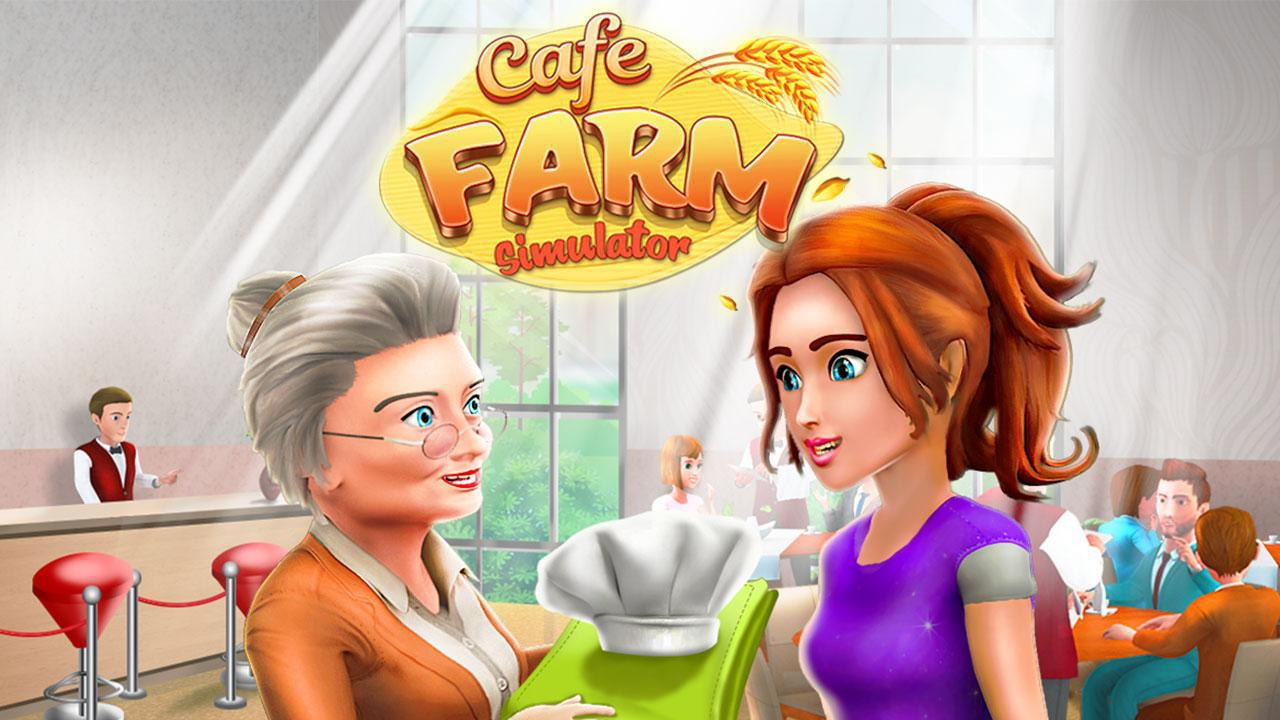 Cafe Farm Simulator - Kitchen Cooking Game 游戏截图1