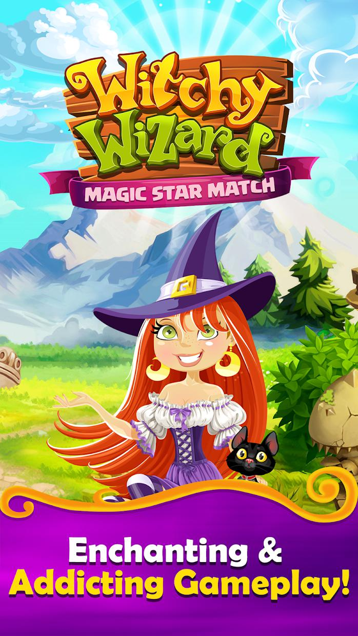 Match 3 Games Witchy Wizard Matching Free New 2019 游戏截图1