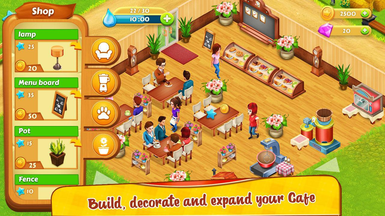 Cafe Farm Simulator - Kitchen Cooking Game 游戏截图3