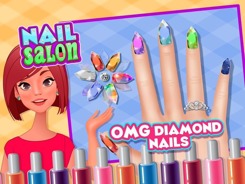 Nail Salon - Nail Polish, Matching & Repair 游戏截图3