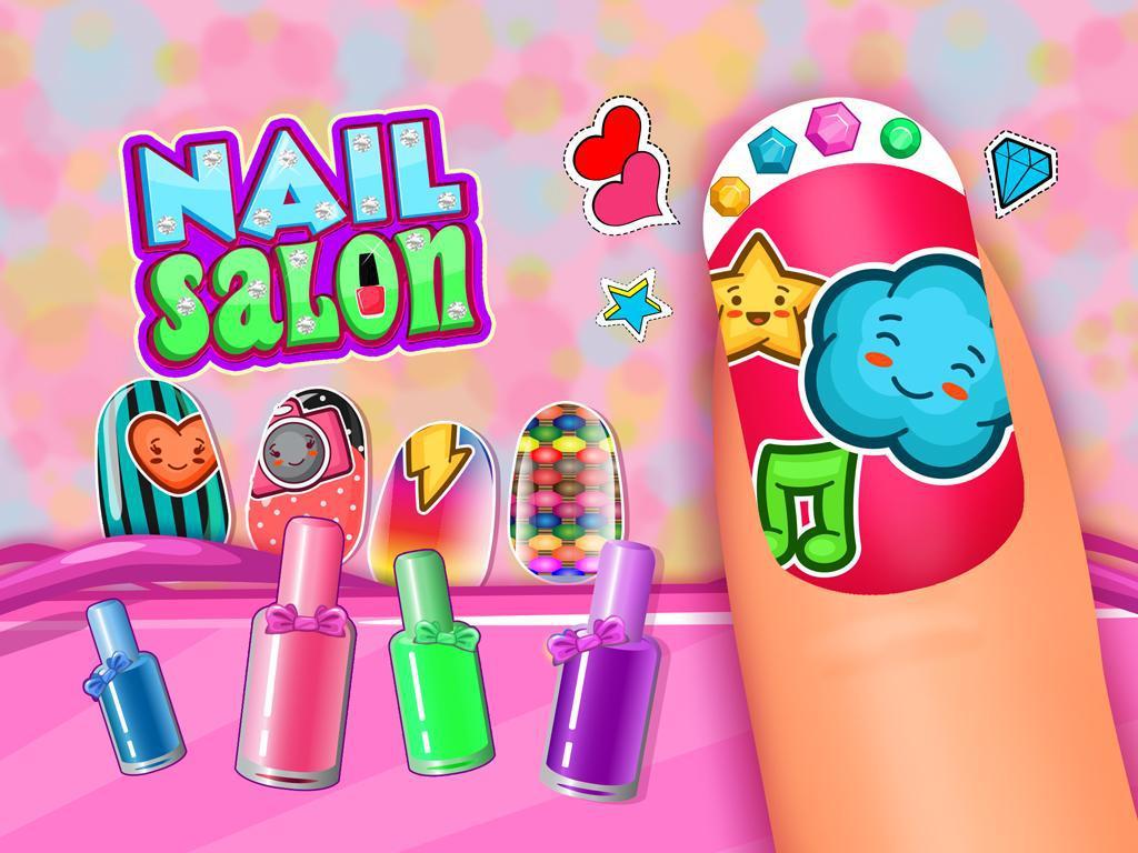 Nail Salon - Nail Polish, Matching & Repair 游戏截图4