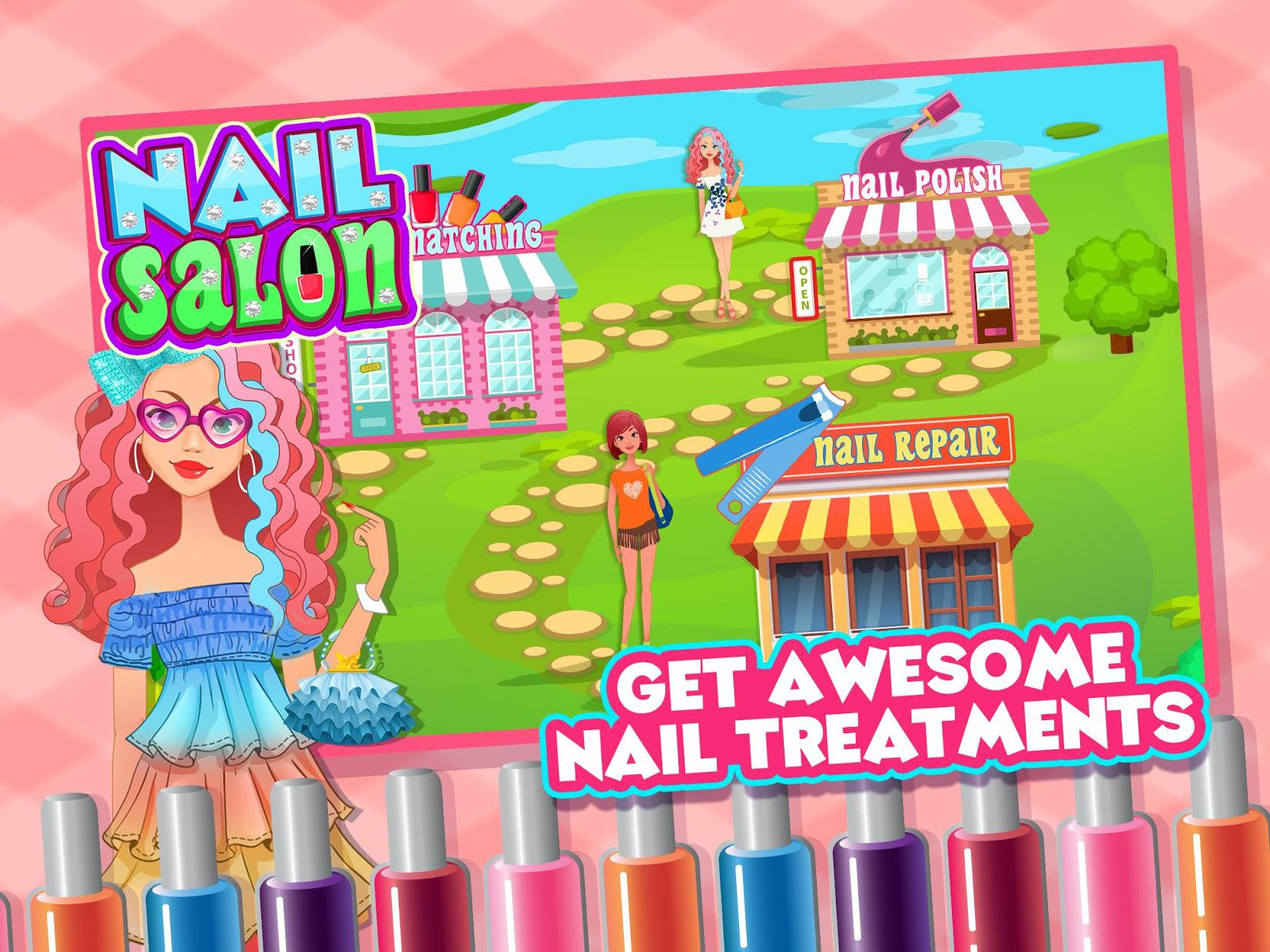 Nail Salon - Nail Polish, Matching & Repair 游戏截图5