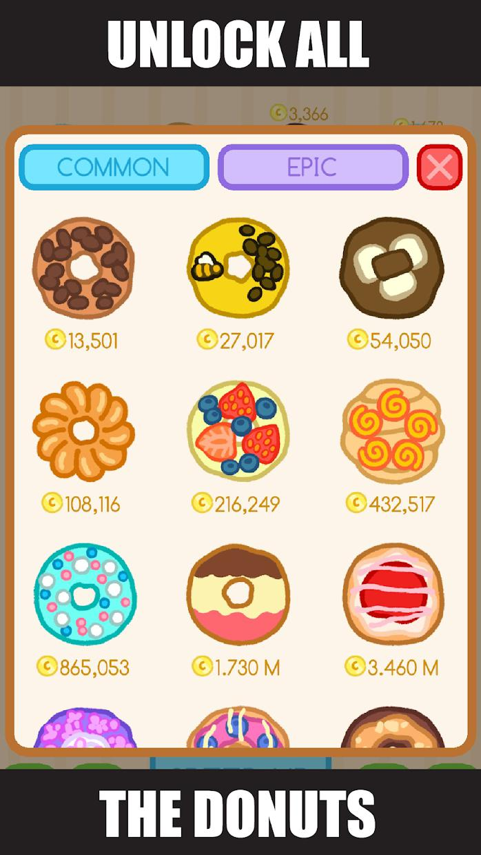 Donut Evolution - Merge and Collect Donuts! 游戏截图2