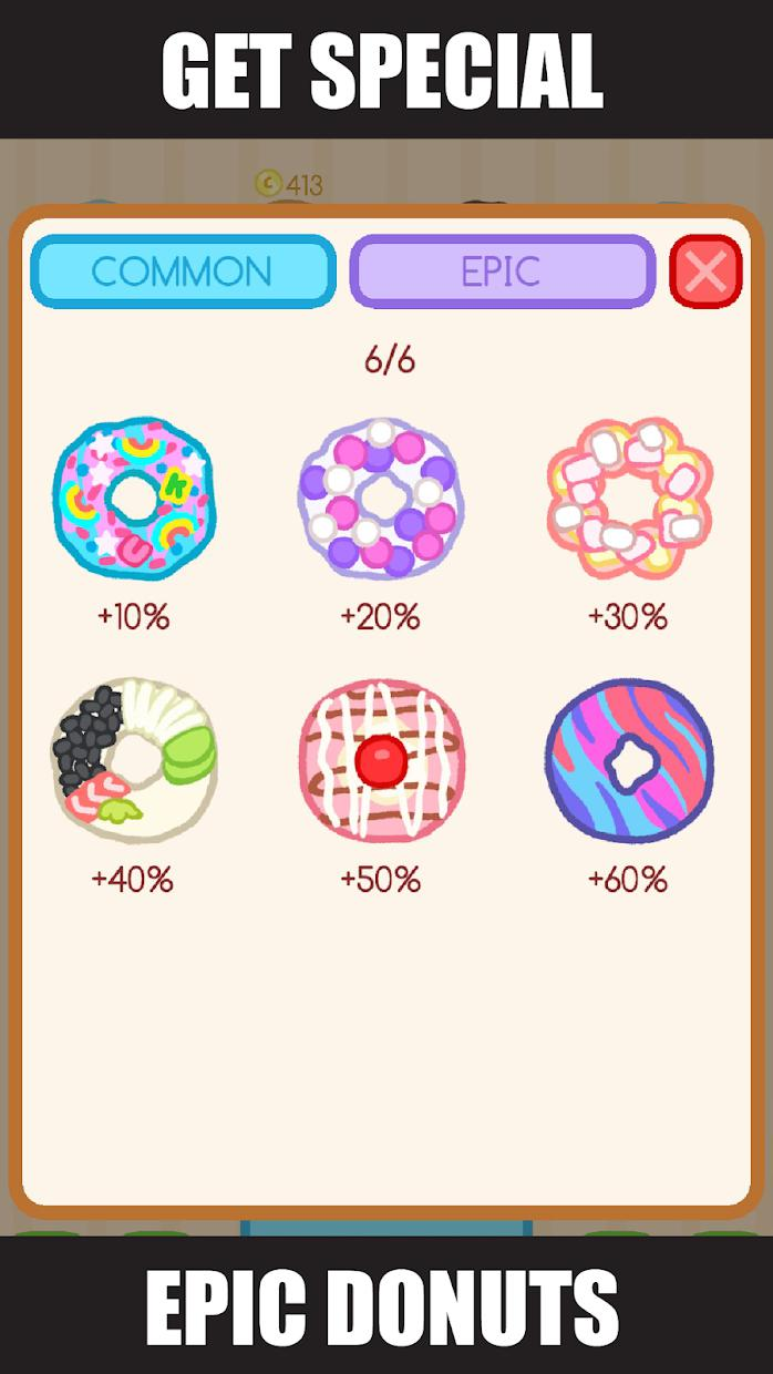 Donut Evolution - Merge and Collect Donuts! 游戏截图3