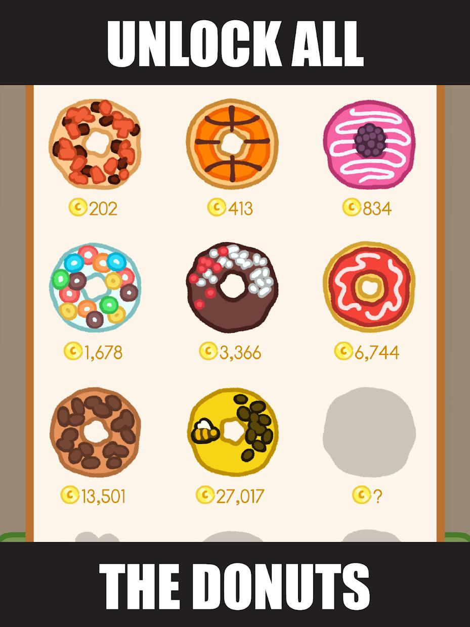 Donut Evolution - Merge and Collect Donuts! 游戏截图5