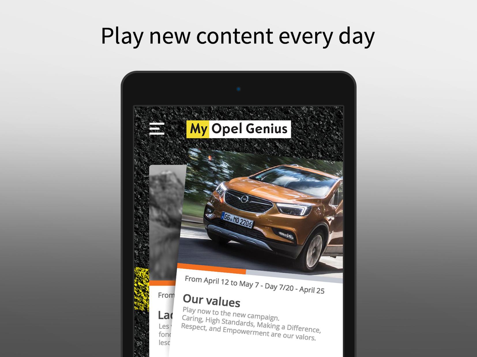 My Opel Genius 游戏截图5