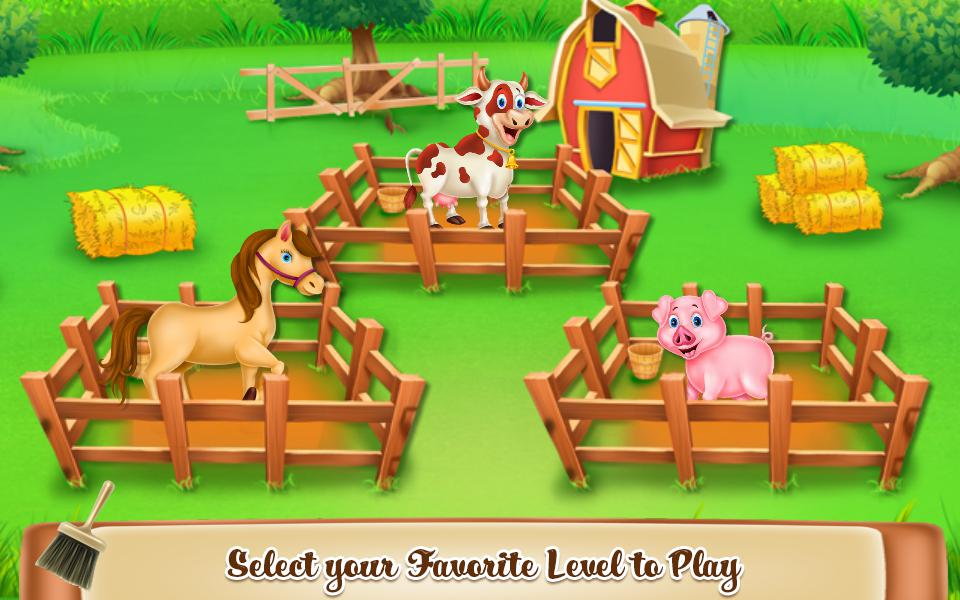 Animals Farm Cleaning 游戏截图2