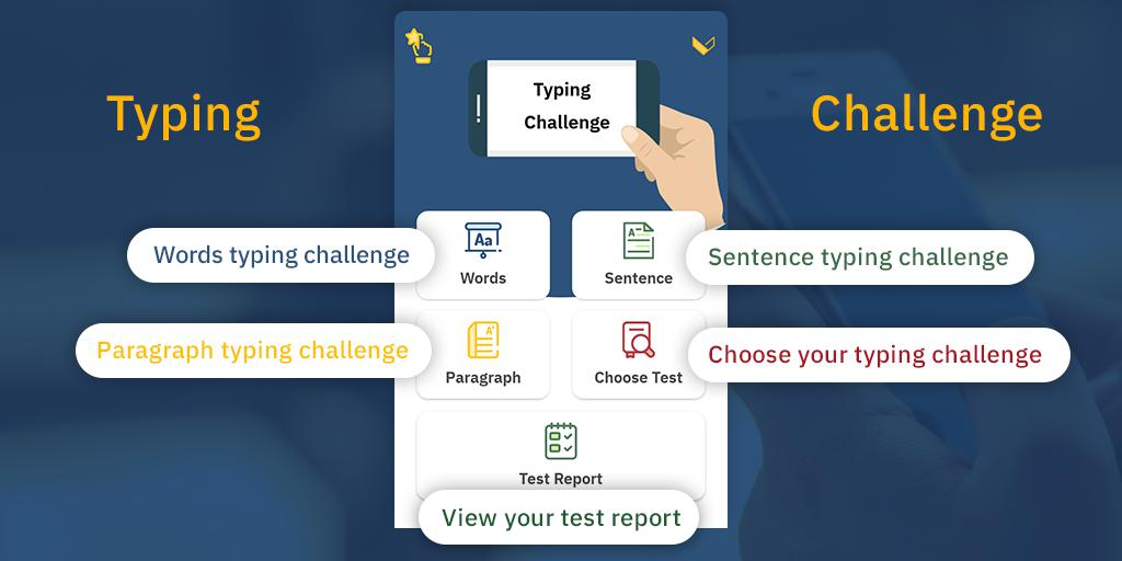 Typing Challenge: Learn Typing 游戏截图1