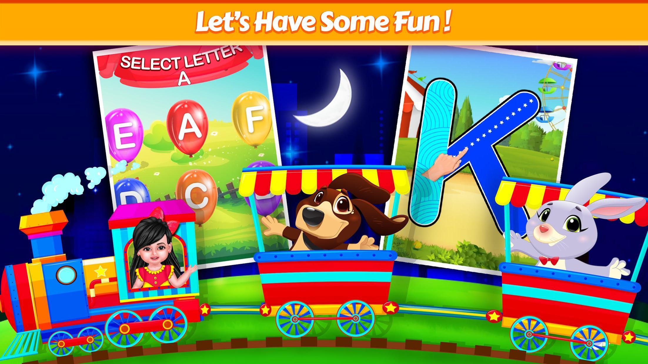 Aadhya's Kids World: ABC Tracing & Phonics Game 游戏截图2