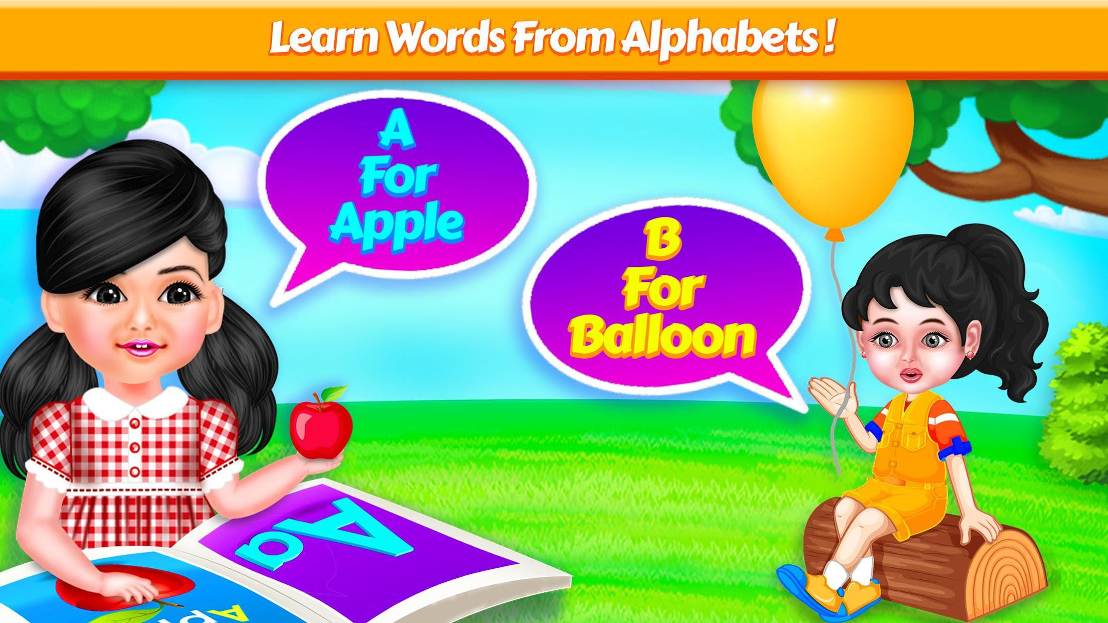Aadhya's Kids World: ABC Tracing & Phonics Game 游戏截图3