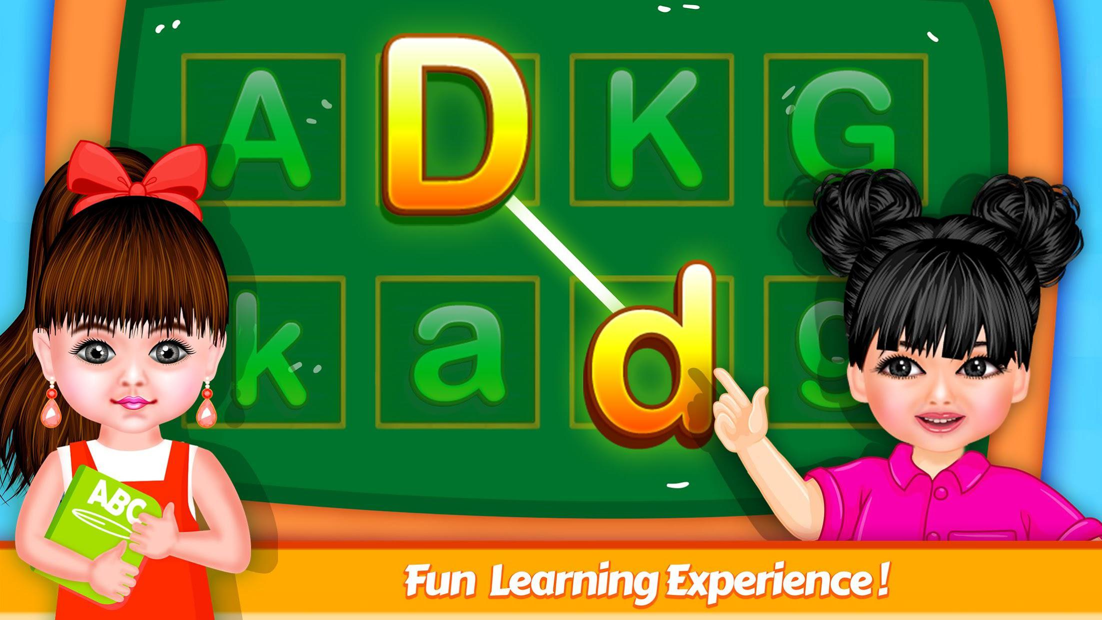 Aadhya's Kids World: ABC Tracing & Phonics Game 游戏截图4