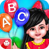 Aadhya's Kids World: ABC Tracing & Phonics Game