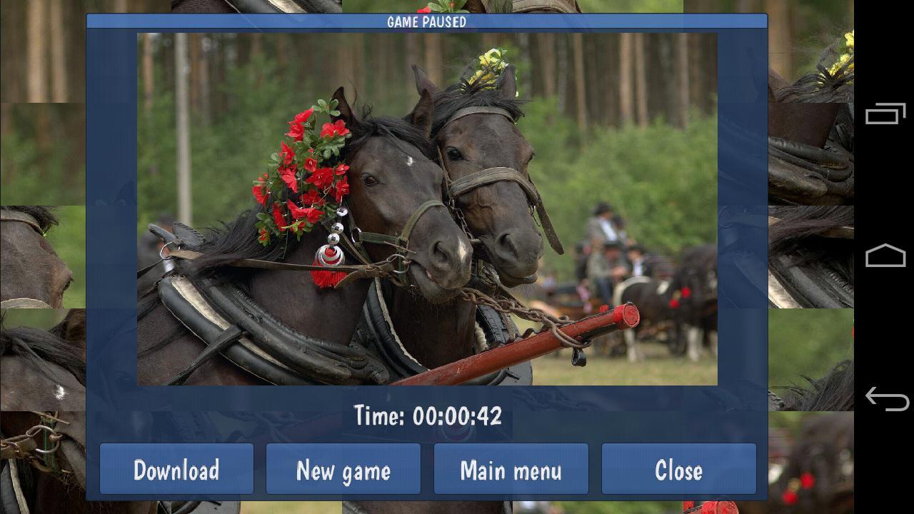 Tile Puzzles · Horses 游戏截图3