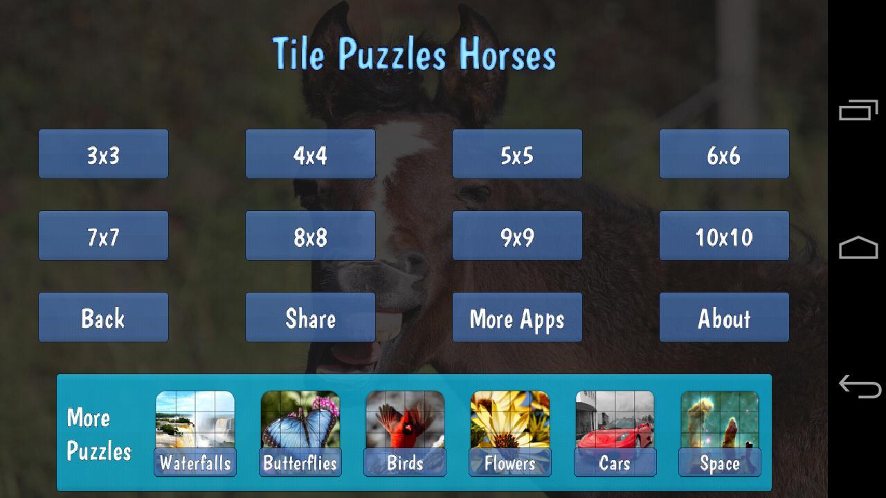 Tile Puzzles · Horses 游戏截图4