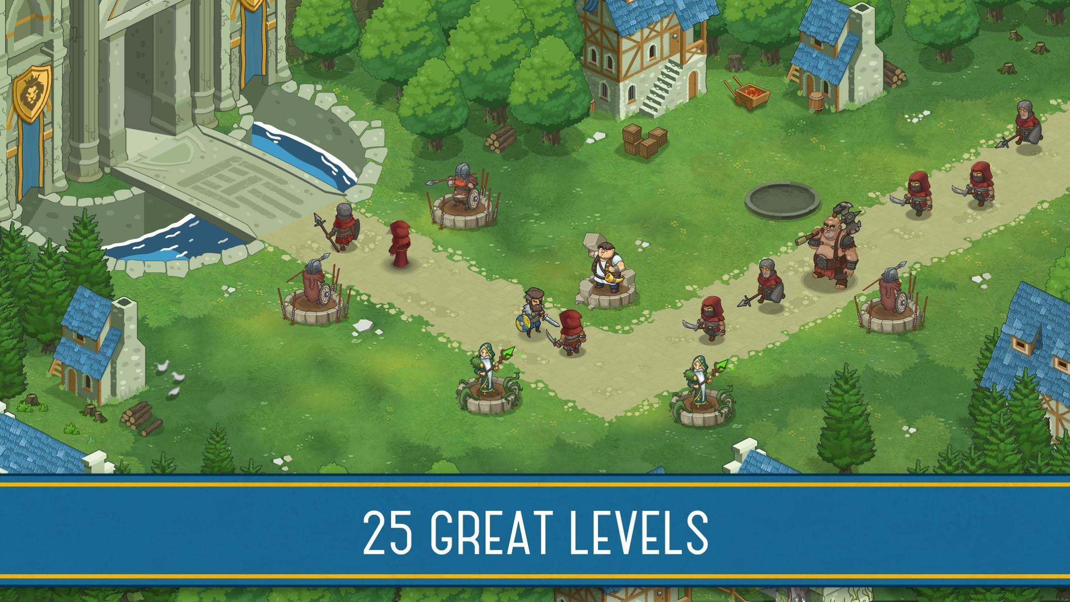 Tower Defense: New Empire 游戏截图1