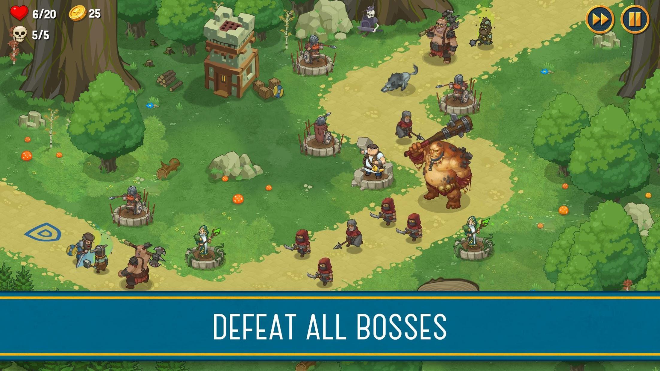 Tower Defense: New Empire 游戏截图3
