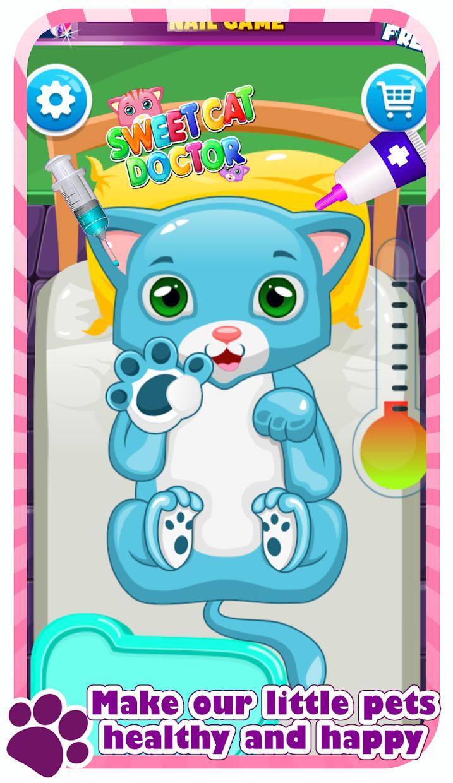 Sweet Cat's Hospital - Pet Doctor 游戏截图4