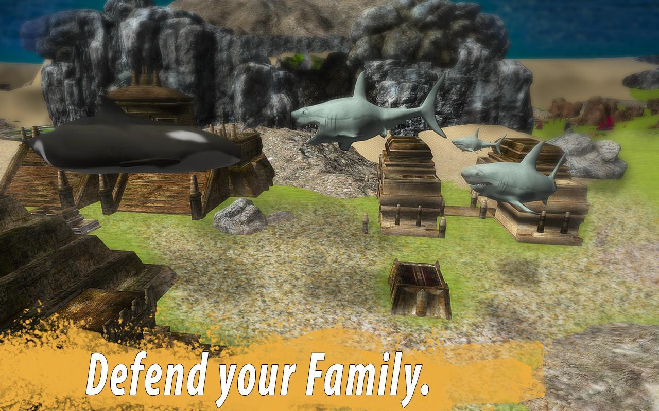 鲨鱼家族 游戏截图3