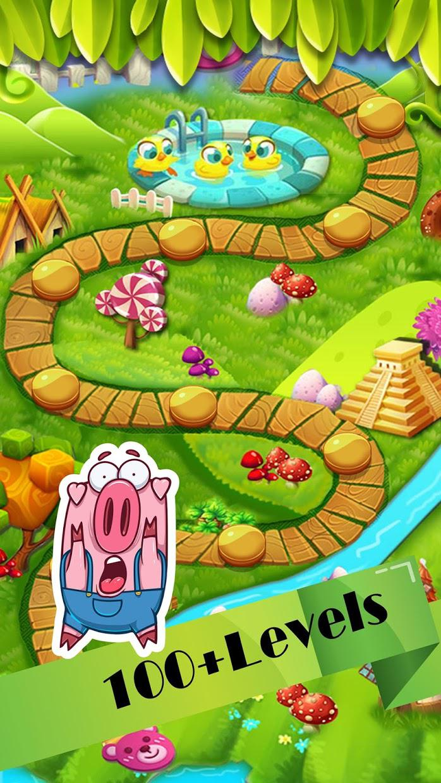 Veggies garden : Vegetable carnival match 3 crush 游戏截图3