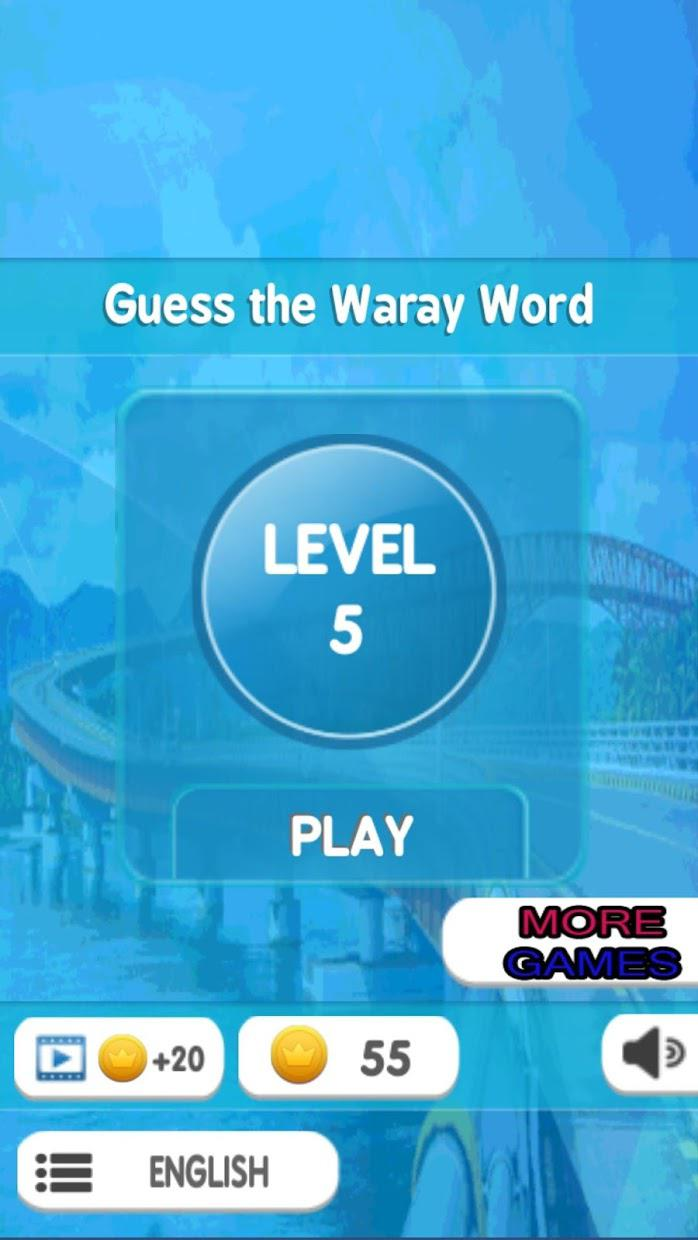 Guess the Waray Word 游戏截图1