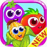 Veggies garden : Vegetable carnival match 3 crush