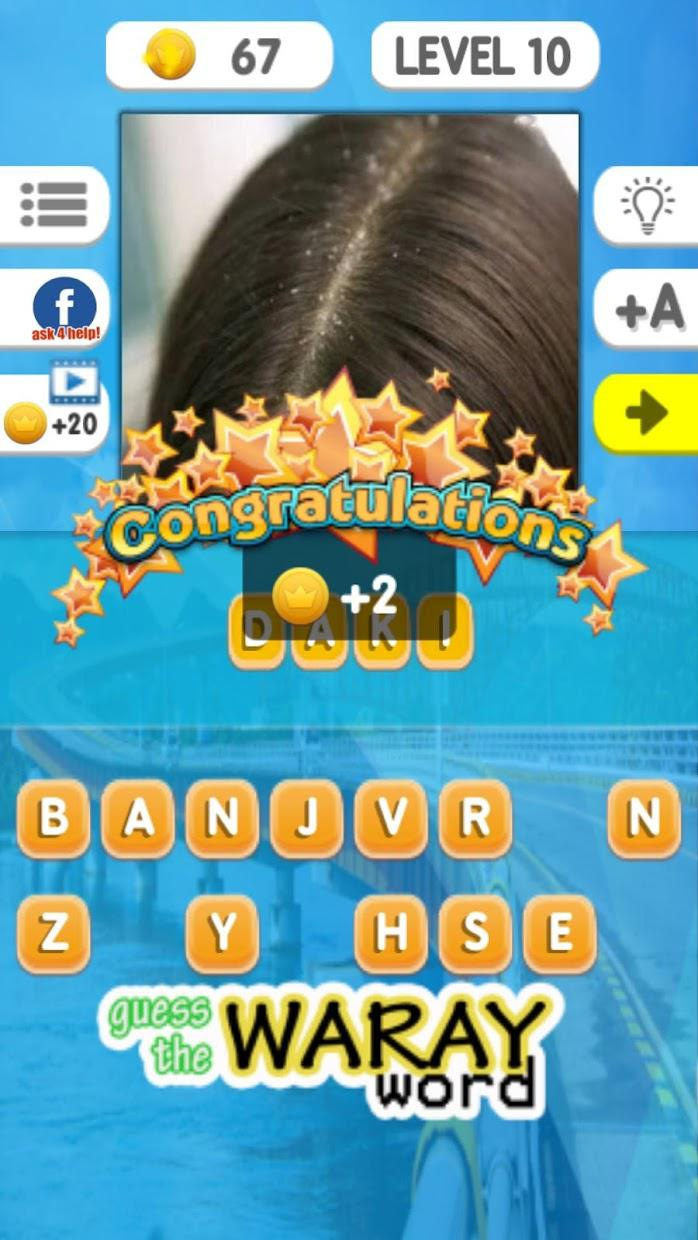 Guess the Waray Word 游戏截图3