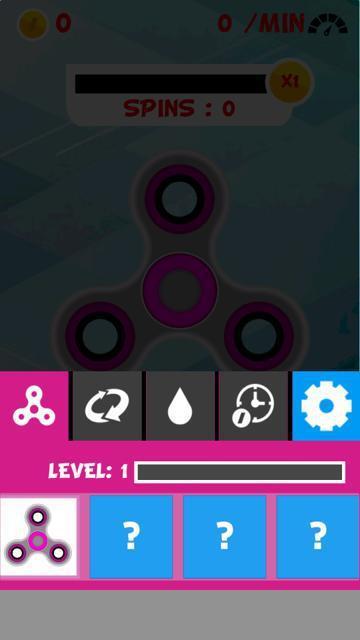 Fidget Spinner Simulator 游戏截图2