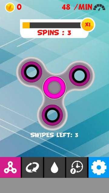 Fidget Spinner Simulator 游戏截图4