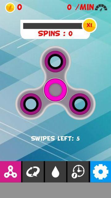 Fidget Spinner Simulator 游戏截图3