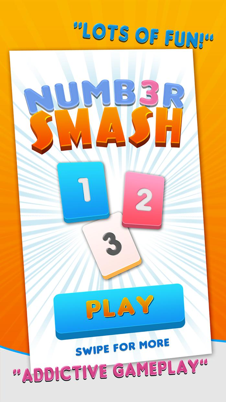 Numbers Smash 123 游戏截图1